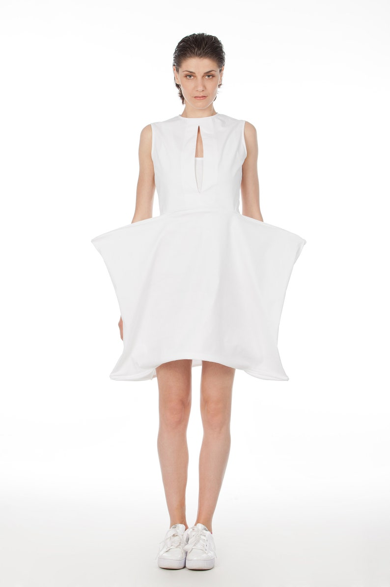 White Midi Cocktail Dresses for Women