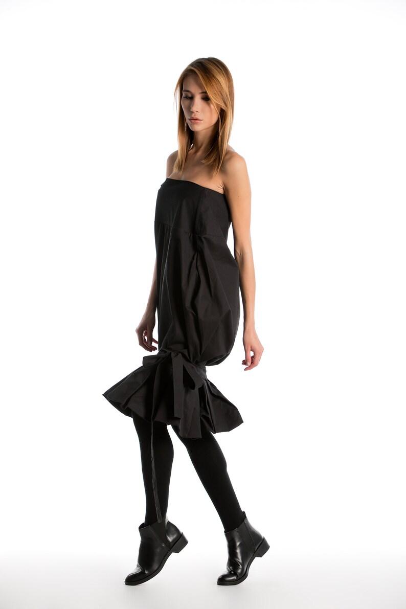 4e9a5504f5c9 Donne abito vestito vestito nero decostruito vestito Avant
