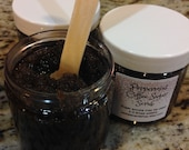 PEPPERMINT COFFEE SCRUB, Sugar Scrub, Coffee, Peppermint Scrub, Brown Sugar Scrub, Coffee Sugar Scrub, Espresso