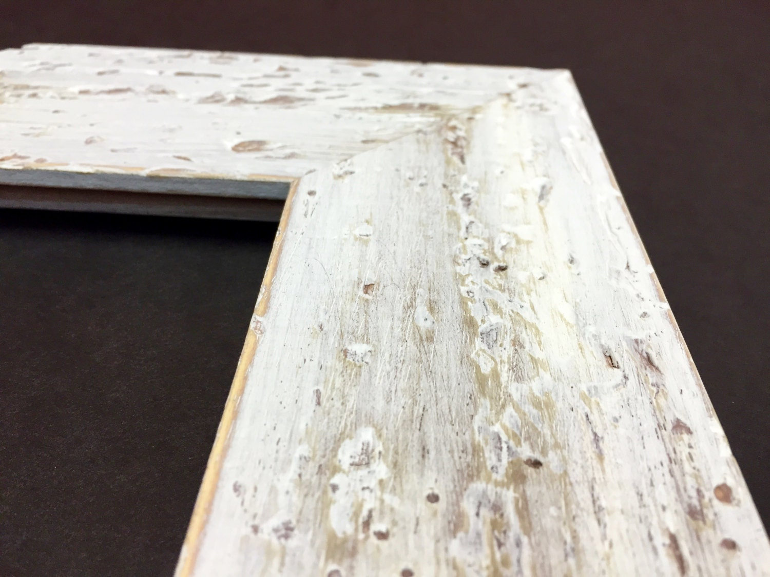 White Rustic Picture Frame,Farmhouse Distressed Frame,Distressed ...