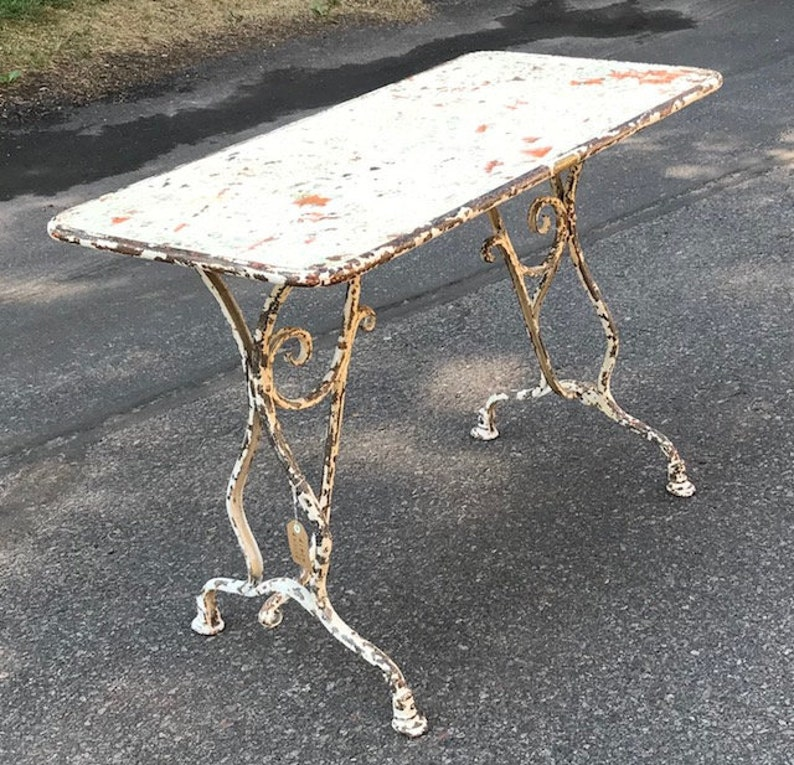 19th Century Table from Arras France  NO SHIPPING image 0