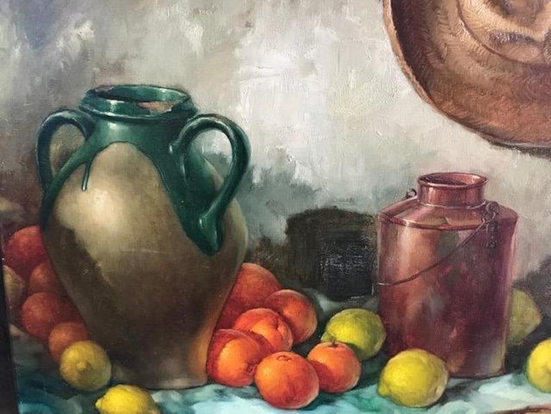 Oil Painting on Canvas  Still Life  Stilllife image 0