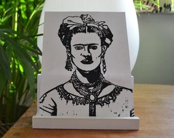 Frida Kahlo Original Lino Prints