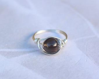 Sterling Silver Ring Free Shipping Designer Indian Handmade Ring Christmas Sale Ring Indian Artisans Rose Quartz Ring