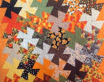 Fall Pinwheel Quilt
