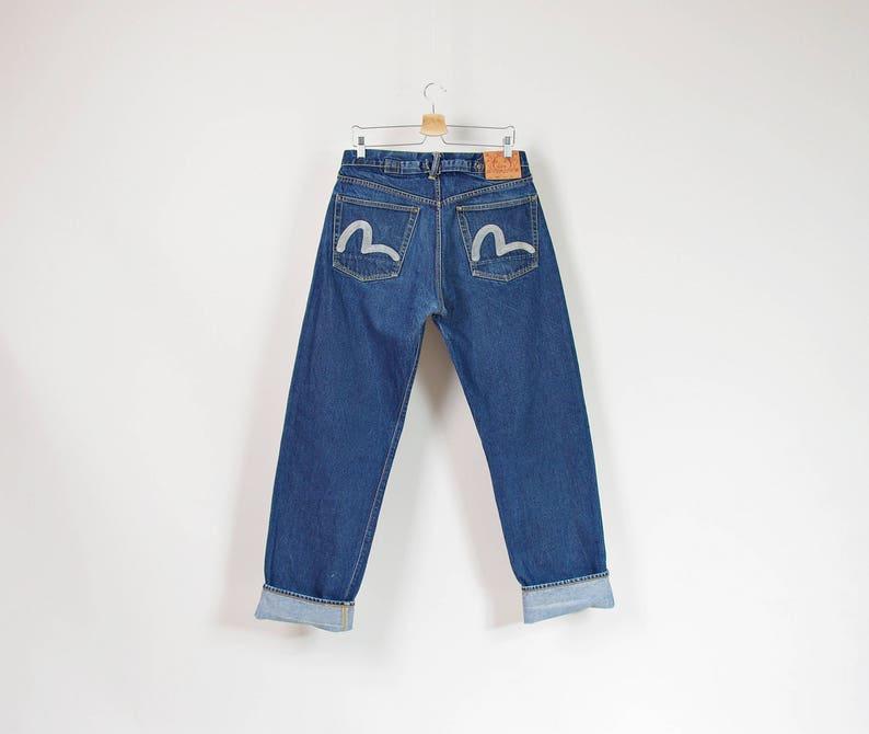 ffeaf257b0ce Evisu Lot 0002 Rising Sun Selvedge Denim Mens Jeans Size 34