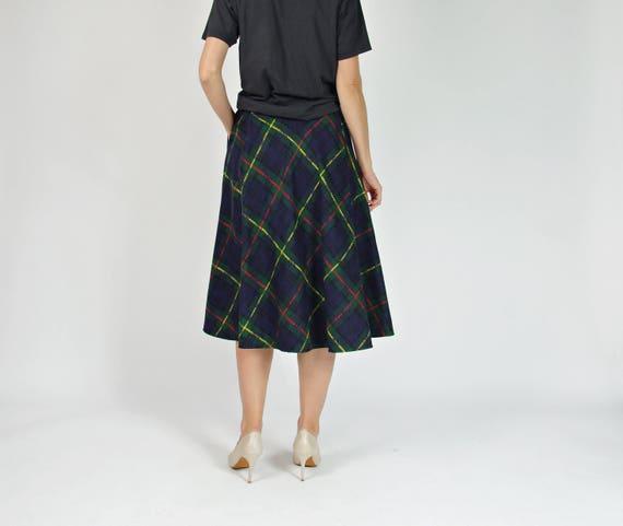Germany made skirt pockets midi style wool 50s with Onone street Paris in West xq7z8nCw6
