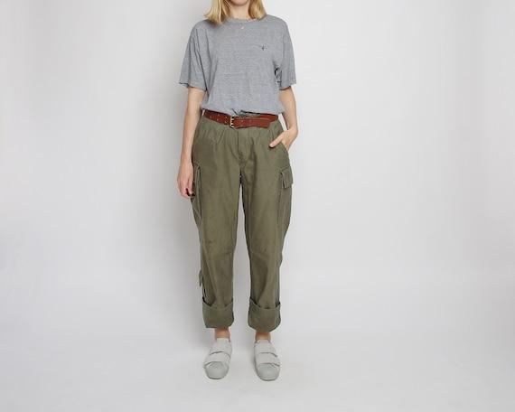 80s Army cargo pants, Vintage patina military trou