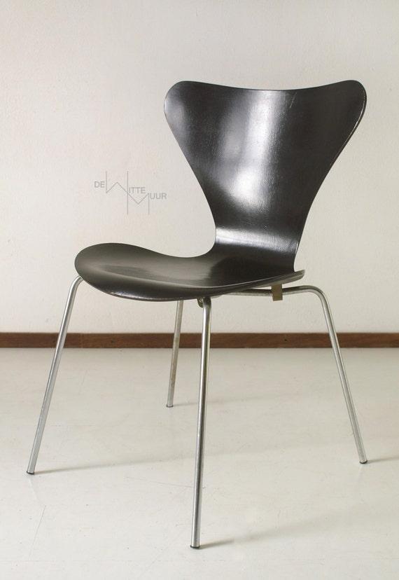 Vlinder Bureaustoel Arne Jacobsen.Items Similar To Arne Jacobsen Rare Early Production Butterfly