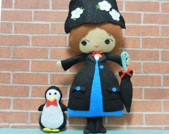 Felt Magic Nanny Softie Plushie Doll by Noialand