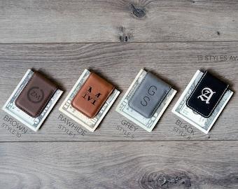 Money Clip - Personalized Money Clip / Magnetic Money Clip / Minimalist Gift / Wedding Gift / Groomsmen Gift / Money Clip for Men