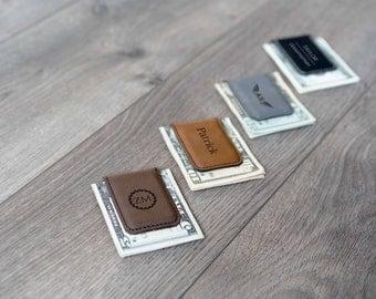 Personalized Money Clip - Custom Money Clips / Engraved Money Clip / Minimalist Gift / Wedding Gift / Groomsmen Gift / Money Clip for Men