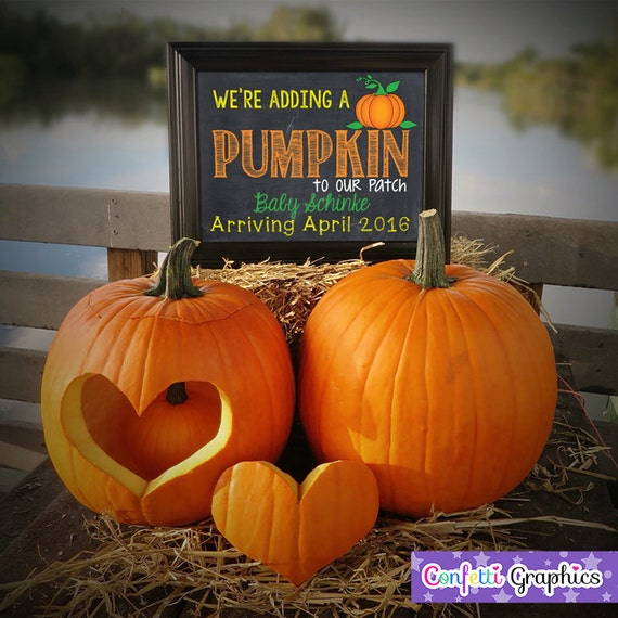 We're adding a Pumpkin to our patch Fall October November