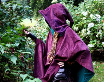 Fairy Glade Hooded Poncho