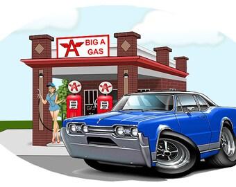 Oldsmobile decal   Etsy