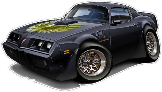 Trans Am Vinyl Decal for laptop windows wall car boat