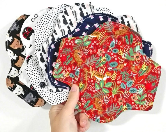 Washable Menstrual Pads for Women Zero Waste Organic Reusable Menstrual Protection