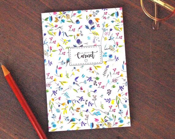 Liberty Pattern Notebook A6 - Bullet Journal