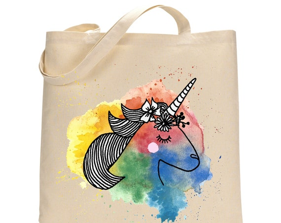 Unicorn Totebag Cotton Bag