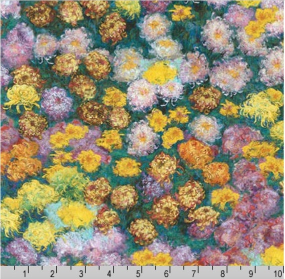 Robert Kaufman Claude Monet by Studio RK SRK 17080 302 Cotton Fabric