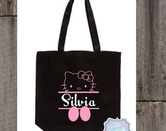 Personalized Hello Kitty Tote Bag 35661d923060c