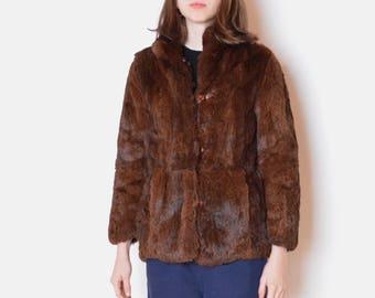 c6a34b3d390 70 s rabbit fur coat