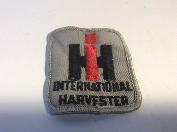 "New International Harvester IH 2/"" x 2/"" Sew on Iron On Patch"