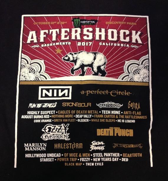 Aftershock 2017 Sacramento Concert Tour T Shirt S… - image 7