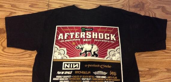 Aftershock 2017 Sacramento Concert Tour T Shirt S… - image 6