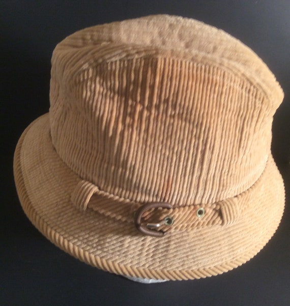 Vintage Trilby checked hat 7-14