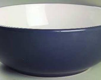 Graphite Gray Color Sango Collectible Large Stoneware 9.5'' Vegetable Bowl