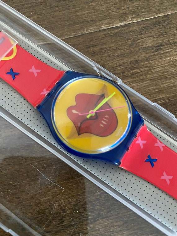 Swatch watch Vintage Swatch Kiss 1999 GN181