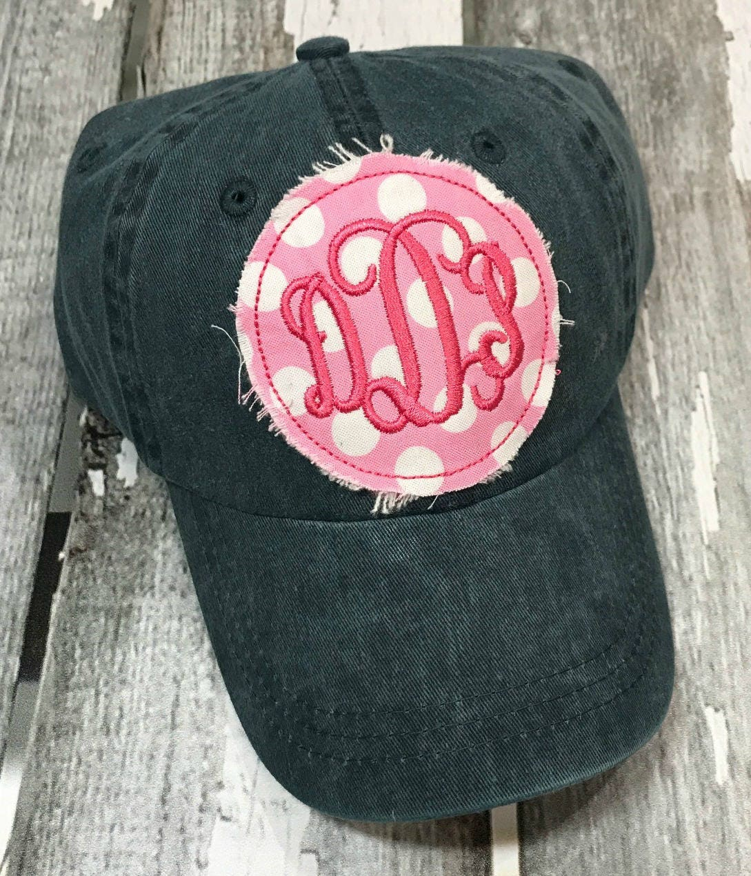 ae75ab49580 Monogrammed Baseball Hat Womens Hat Monogrammed Hat