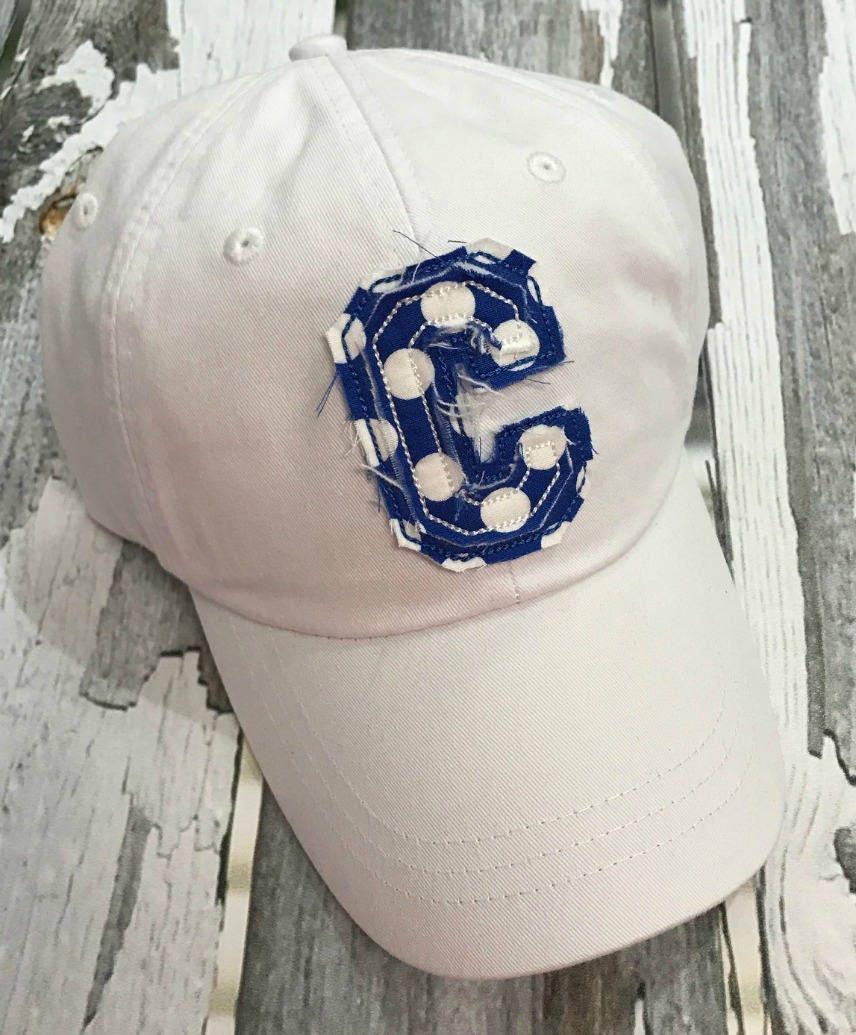 02b60b7a Monogrammed Baseball Hat-Ladies Hat-Monogram Hat-Monogrammed Patch ...