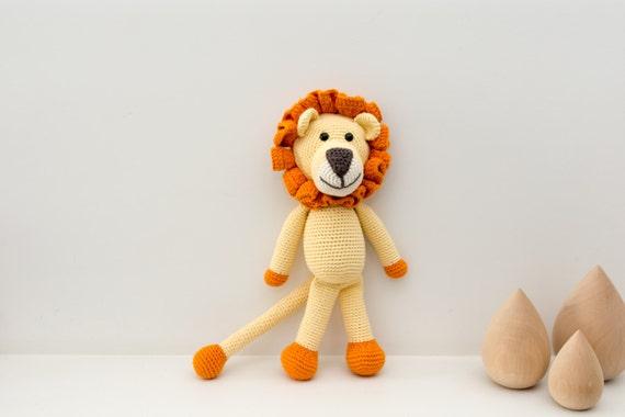 Häkeln Sie Spielzeug Kuscheltier Löwe Spielzeug Löwe Etsy