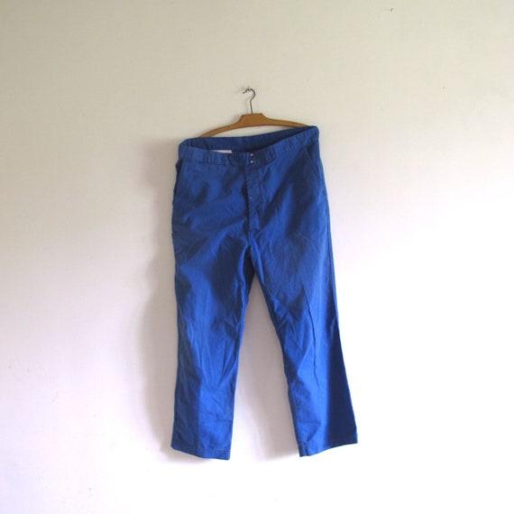 VTG Adolphe Lafont French Indigo blue chore Work c