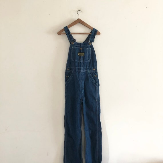 Washington Dee Cee vintage 70s denim overalls jump