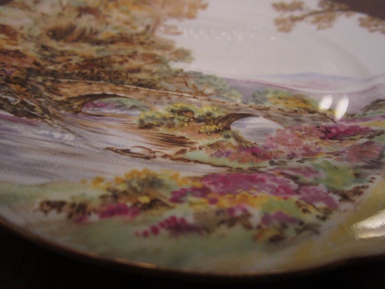 Mailed from Canada SHELLEY HEATHER 1 x bread and butter plate