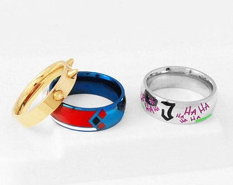 Suicide Squad Ring Etsy