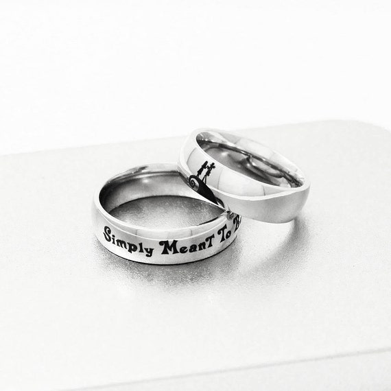 Jack & Sally Engagement Ring Simply Meant To Be Ring Couple