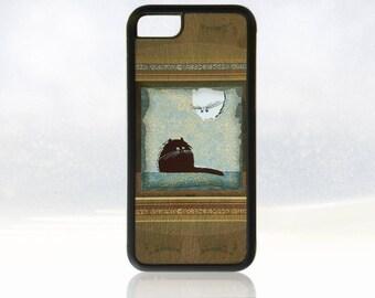 best website 3d517 cc137 Fat cat phone case | Etsy