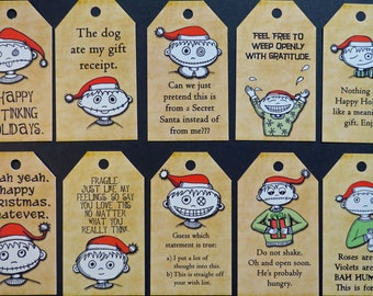 Beyond Inappropriate Gift Tags