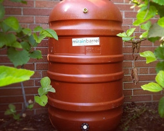 Rain Barrel, DIY Kit, Used Food Grade Barrel, 58 Gallon Size, Upcycled, FREE SHIPPING !!!