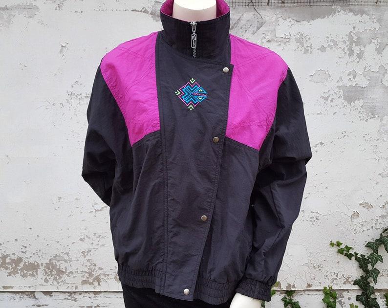 495ded9dfb51 90s PUMA Windbreaker Jacket Colorblock Tracksuit Track Jacket