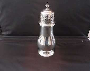 Antique Silver Plated HARRODS OF LONDON  Sugar Sifter Antique Edwardian Sugar Sifter Edwardian Silver Plated Harrods of London Dining Table
