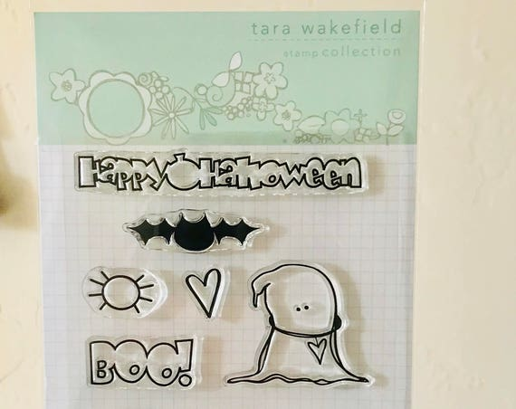 Friendly Ghost // Clear Stamps // Scrapbooking // Halloween // stamp sets