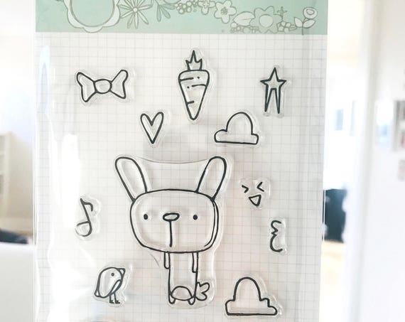 Stamps // Bunny Cheer // clear stamp set // paper crafting // card making // craft // stamps