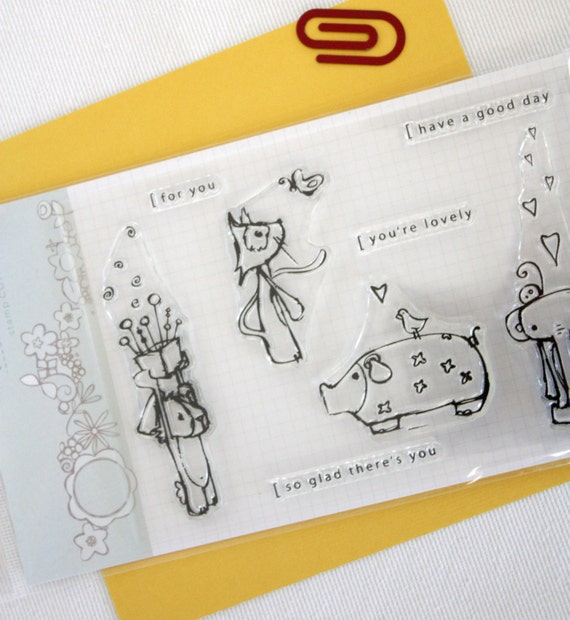 Stamps // Little Gifts // Clear stamp set // scrapbooking & paper crafting // stamp set
