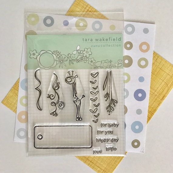Tiny Tags // Clear Stamp for paper crafting // scrapbooking // stamp set // crafting