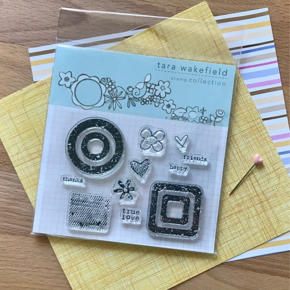 Stamps // Weathered love clear stamp for paper crafting // stamp set // crafting // rubber stamps